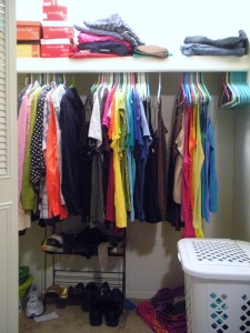 Yes, it is organized that much on a daily basis. I am a freak.